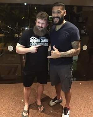 Antônio Pezão Roy Nelson UFC Brasília (Foto: Reprodução)