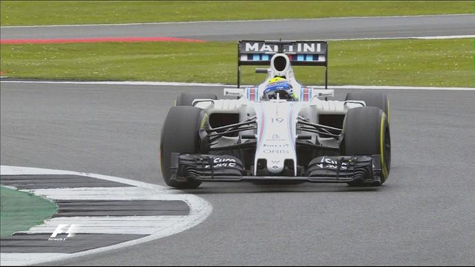 Felipe Massa acabou eliminado no Q2 do treino classificatório para o GP da Inglaterra (Foto: Divulgação)
