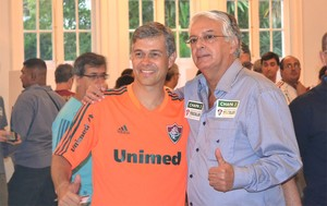 Peter Siemsen Eleição Fluminense (Foto: Edgard Maciel)
