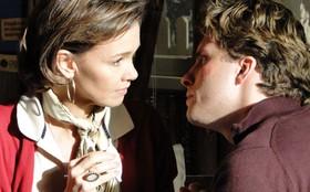 Thiago Fragoso e Júlia Lemmertz comentam romance entre seus personagens