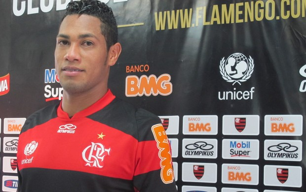 Hernane Flamengo (Foto: Janir Junior / Globoesporte.com)
