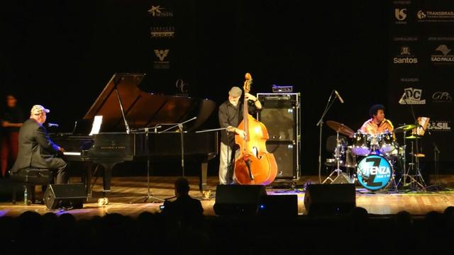 João Donato Quinteto no Santos Jazz Festival (Foto: Priscila Martinez)
