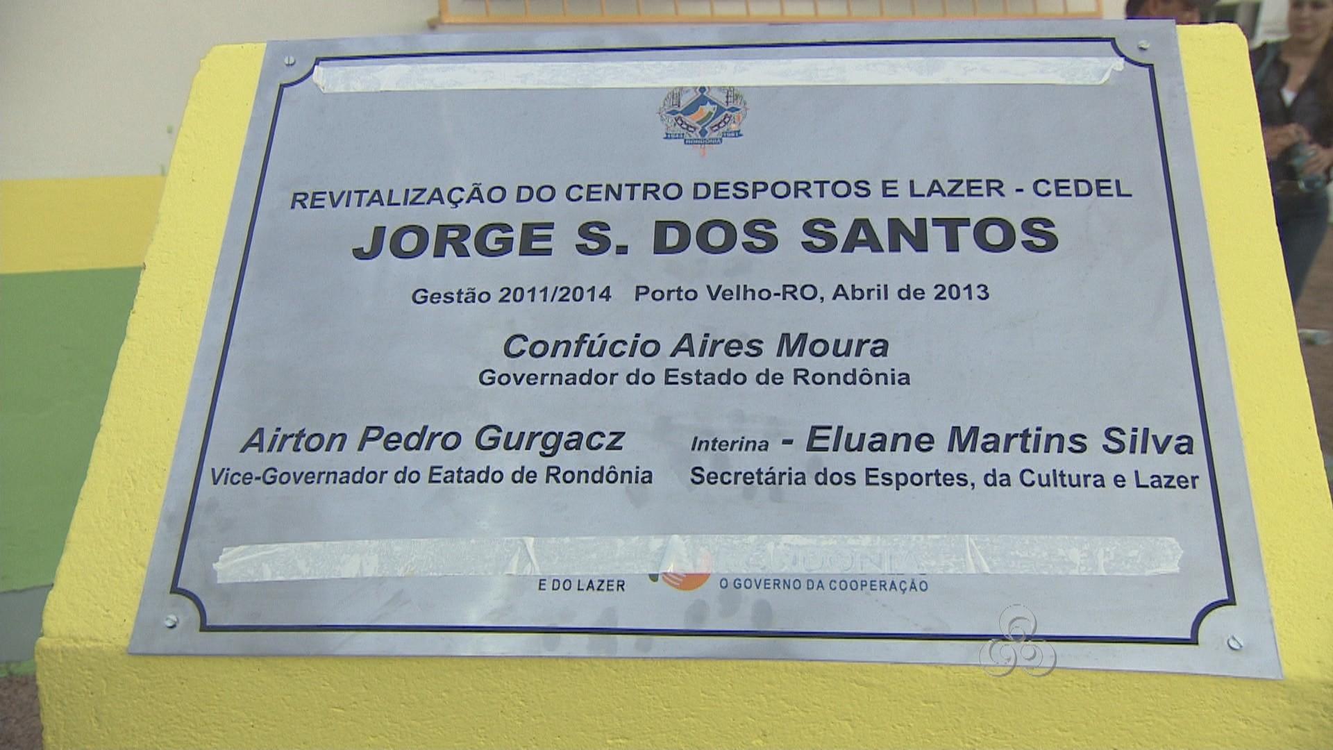 Centro Jorge S. dos Santos (Foto: Rondônia TV)