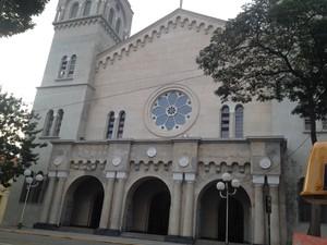Parte inferior da fachada ainda aguarda restauro (Foto: Maiara Barbosa/G1)