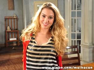 Meg marca a estreia de cris Lopes na televisão brasileira