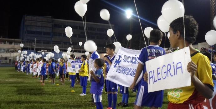 Cerimônia de abertura da Copa José Maria Melo (Foto: Divulgação)