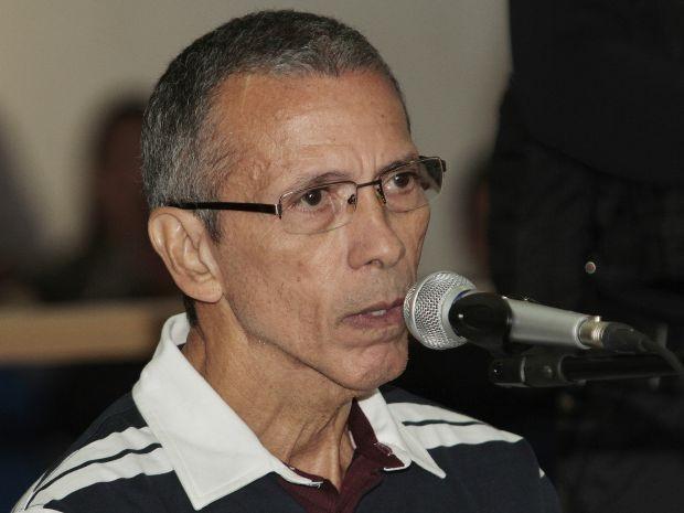 Arcanjo voltou a ser julgado nesta quinta-feira, desta vez pelo assassinato de Rivelino Jacques Brunini, em 2002. (Foto: Assessoria/TJMT)