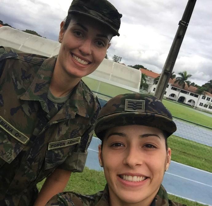 Débora e Fabi  (Foto: Arquivo pessoal)