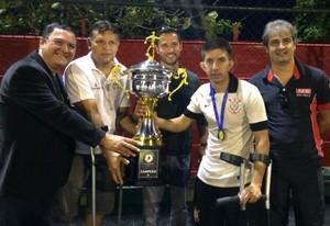 Corinthians Mogi é campeão invicto da competição (Foto: Divulgação/Rogério Almeida)