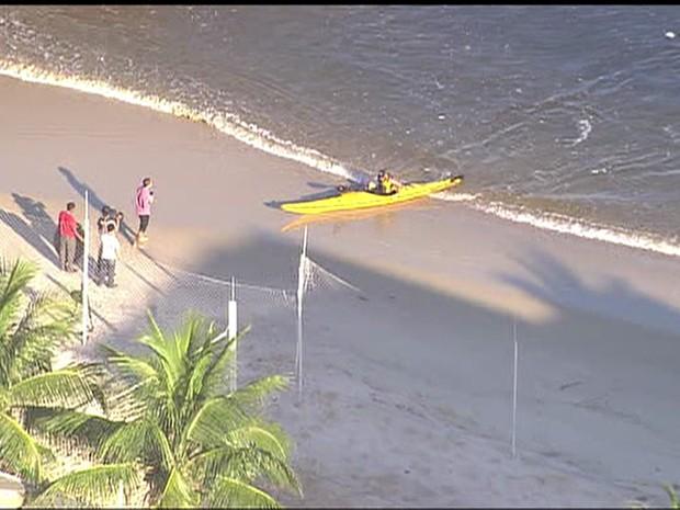 Wolney Mello faz o trajeto em aproximadamente 50 minutos (Foto: Reprodução/TV Globo)