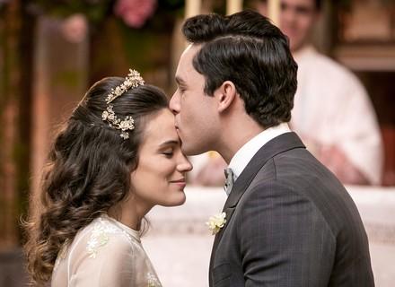 Maria e Celso se casam