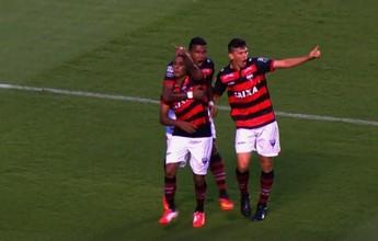 Atlético-GO vira no fim, vence clássico contra o Vila e segue 100% na Série B