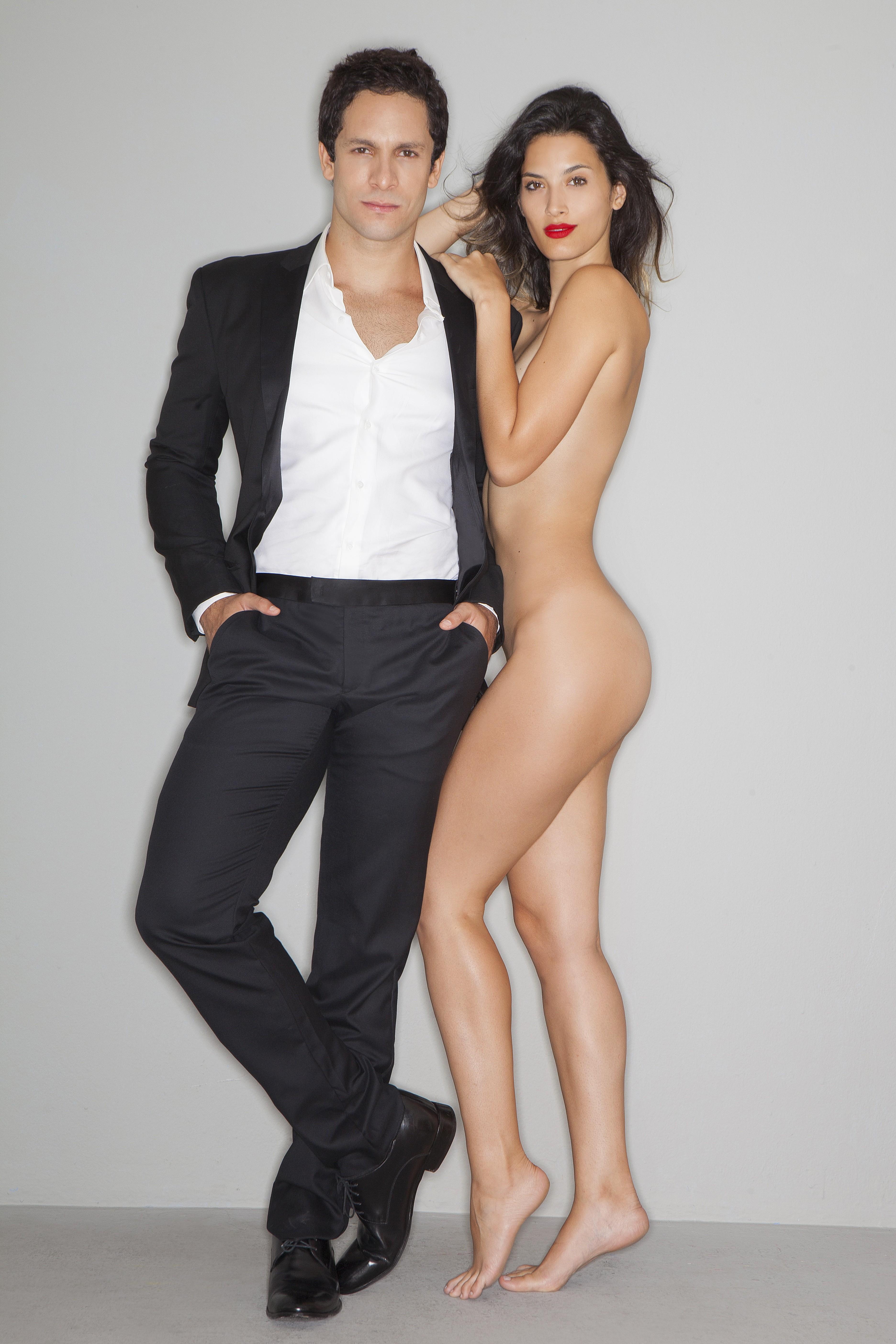 Rainer Cadete com a namorada Tai Riveli (Foto: Faya)