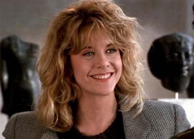 Meg Ryan no sucesso Harry e Sally - Feitos Um para o Outro, de 1989 (Foto: Divulgação)
