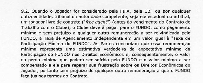 Contrato Doyen Leandro Damião (Foto: Reprodução)