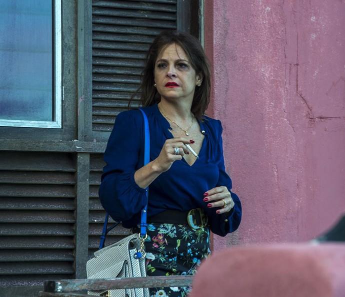 Drica Moraes viverá Vânia, uma mulher cheia de problemas em Justiça (Foto: Estevam Avellar / Rede Globo)