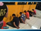 PRF prende seis por suspeita de ataques a carros dos Correios no CE