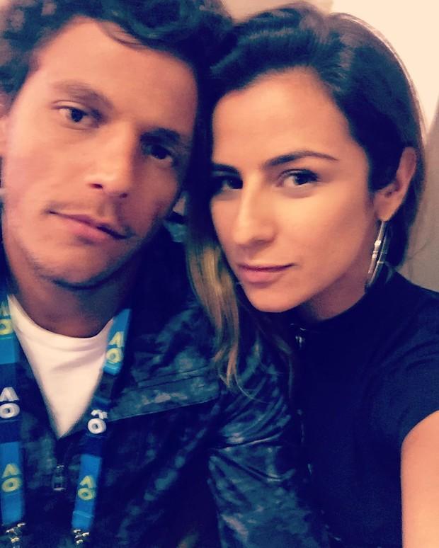 Paula Morais e o namorado, o tenista João Feijão Souza (Foto: Reprodução / Instagram)