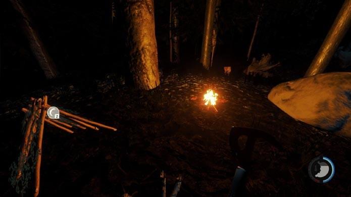 Se proteja no acampamento (Foto: Reprodução/Tais Carvalho)