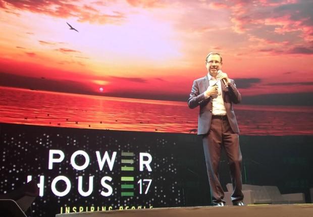 O empresário Carlos Wizard no evento Power House  (Foto: Barbara Bigarelli/Editora Globo)