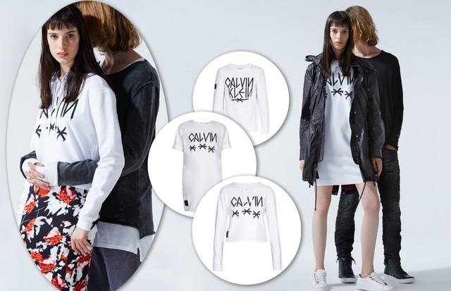 A coleção da Calvin Klein com Pixote (Foto: Divulgação)