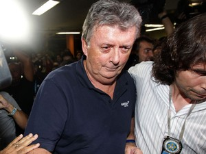 Ray Whelan foi solto durante a madrugada graças a um habeas corpus  (Foto: Marcos de Paula/Estadão Conteúdo)