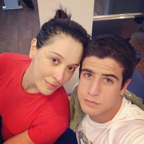 Claudia Raia e o filho Enzo (Foto: Instagram/Reprodução)