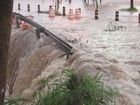 Em 2 horas, chove quase 1 terço do previsto para janeiro em Rio Claro, SP