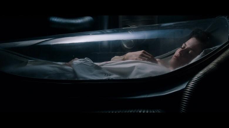 Ripley em animação suspensa, em Alien (Foto: divulgação)