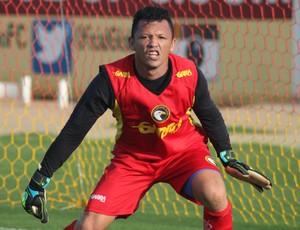 Messi - goleiro do Globo FC (Foto: Kaline Rodrigues/Divulgação)