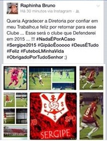 Raphinha Sergipe (Foto: Reprodução/Facebook)