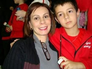 Carta de suicídio da mãe do menino Bernardo foi forjada, dizem peritos (Foto: Reprodução/TV Globo)