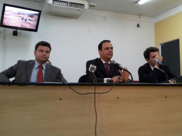 Silvio Félix presta depoimento na Câmara de Limeira (Foto: Divulgação/Câmara)