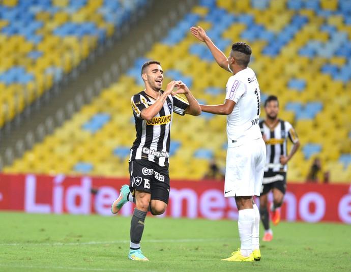 Gabriel Botafogo X Santos (Foto: Andre Durão)