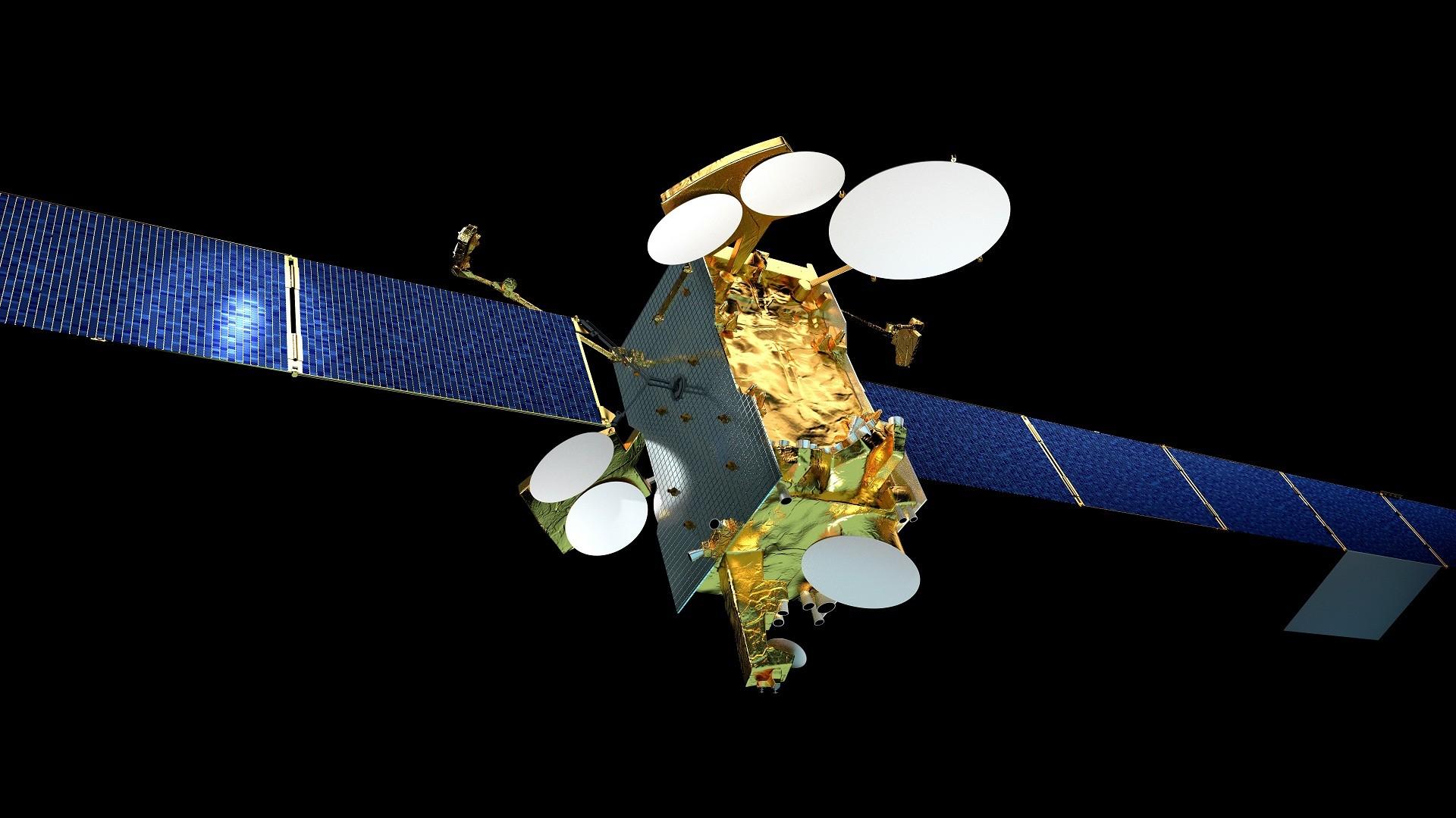 Ilustração do SES-14 (Foto: Divulgação)