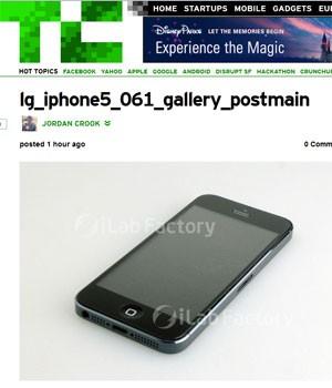 Imagens vazadas pelo blog Macotakara mostram suposta estrutura do novo iPhone 5 (Foto: Reprodução)