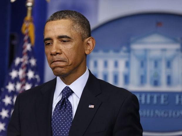 Barack Obama fala após encontro com líderes do congresso nesta sexta-feira (1º) (Foto: Larry Downing/Reuters)