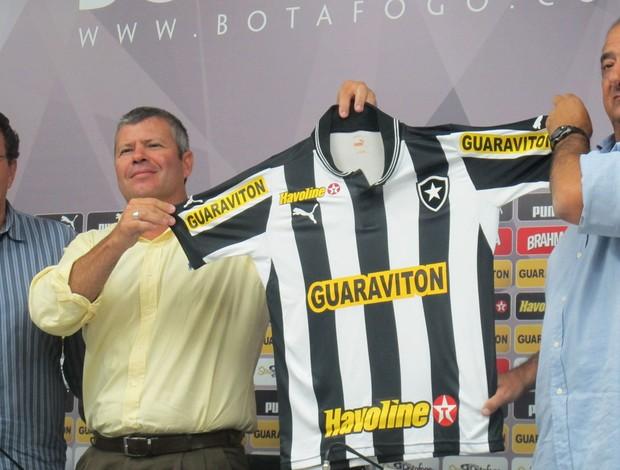 Sergio Landau Chevron Botafogo (Foto: Fred Huber)