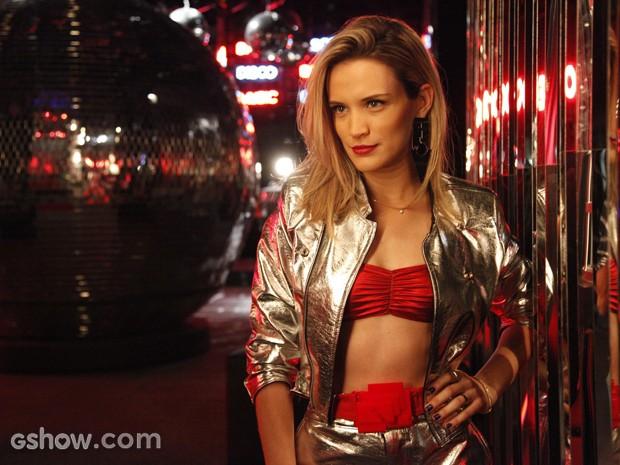 Bianca Bin será a impulsiva Vitória, mas atriz defende personagem: 'Tem caráter' (Foto: Raphael Dias/TV Globo)