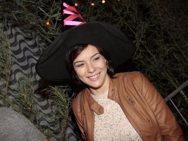 Regiane Alves  em festa de Halloween no Rio (Foto: Isac Luz/ EGO)