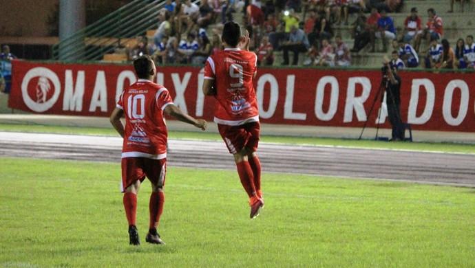 Baré 4 x 1 Atlético Roraima - 1º jogo da semifinal do 1º turno do Campeonato Roraimense 2017 (Foto: Imagem/Tércio Neto)