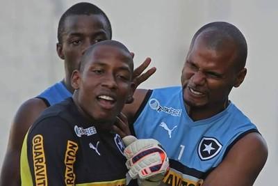 Luis Guilherme e Jefferson Botafogo (Foto: Vitor Silva/SSPress)