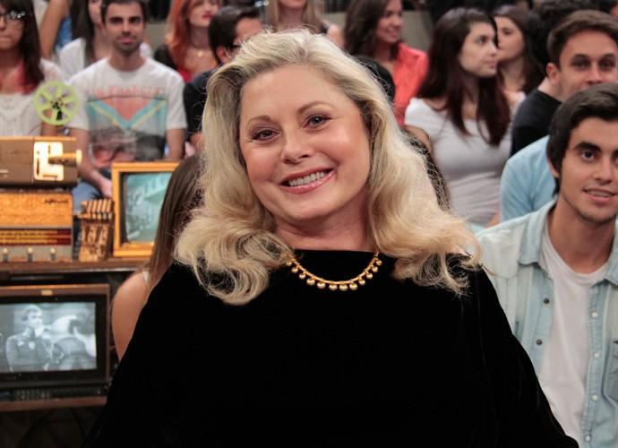 Vera Fischer participa de gravação do programa Altas Horas (Foto: Marcos Mazini/Gshow)