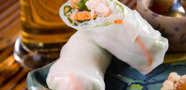 Receita de rolinho vietnamita (Foto: Divulgação)