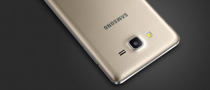 O Galaxy On7 possui display de 5,5 polegadas e câmera de 13 megapixels (Foto:Divulgação/Samsung)