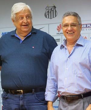 Clodoaldo, Modesto Roma e Dagoberto dos Santos (Foto: Cássio Lyra)