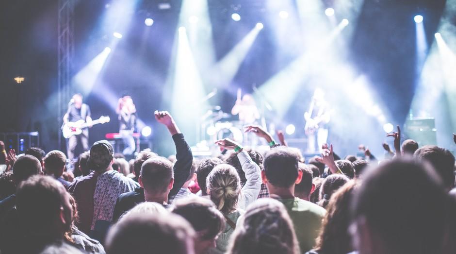 Música, festa, show, ao vivo, apresentação, público, palco (Foto: Reprodução/Pexel)