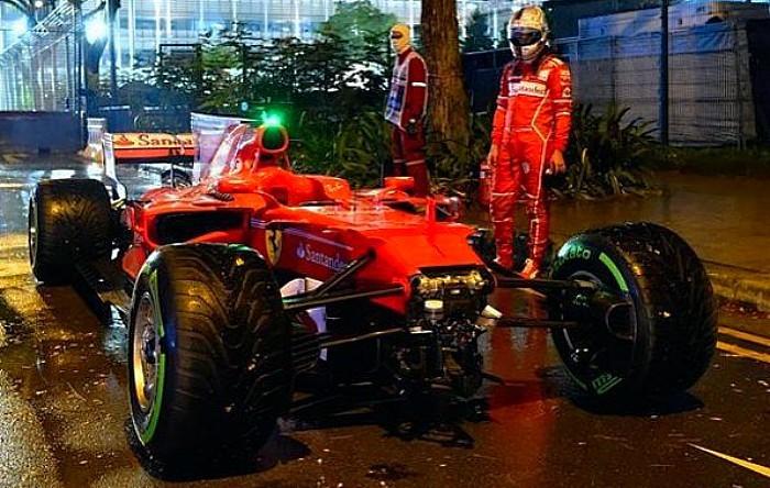 Sebastian Vettel em Cingapura