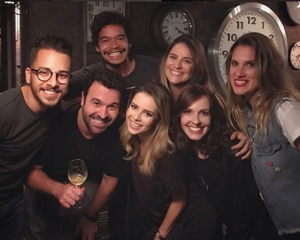 Reencontro do elenco de 'Sandy & Junior' (Foto: Reprodução / Instagram)
