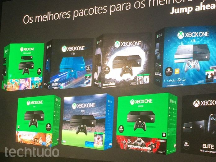 Xbox One terá novos bundles no fim de 2015 (Foto: Elusa Costa/TechTudo)
